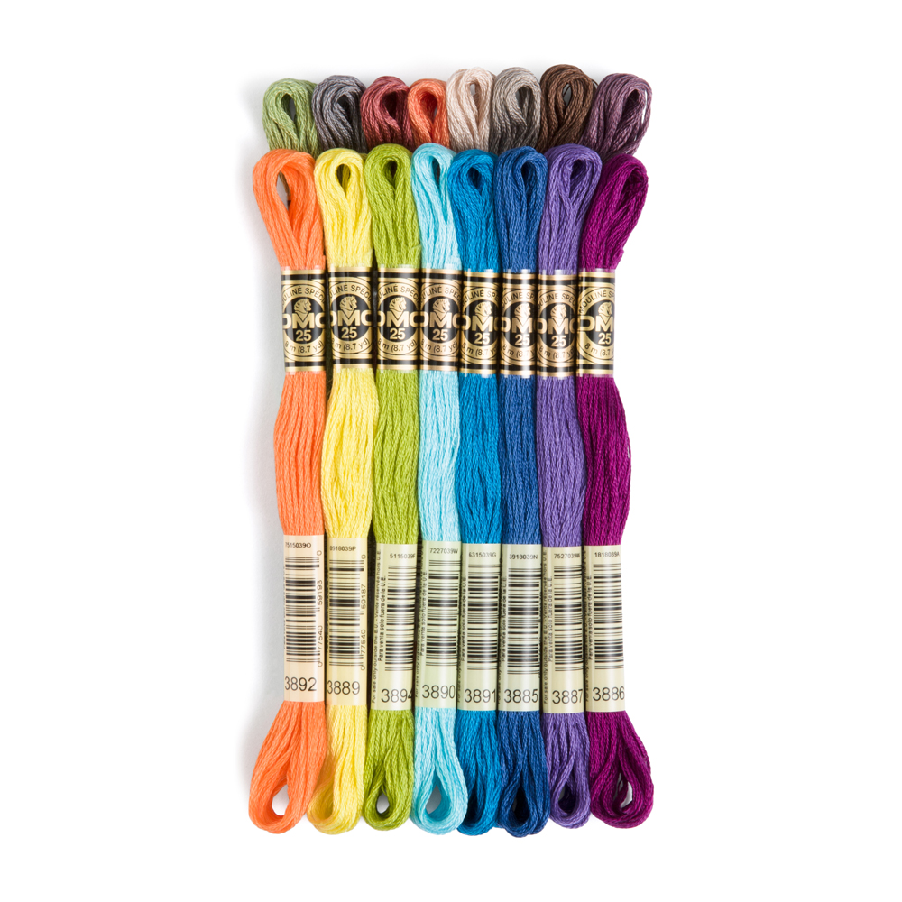 DMCu00ae 6 Strand Embroidery Floss Skeins | Jack Dempsey Needle Art