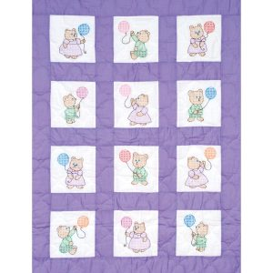 Teddy Bears Nursery Quilt Blocks 300-25