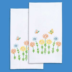 Field of Flowers Hand Towels
