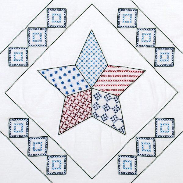 product id 732697 Interlocking Star quilt blocks