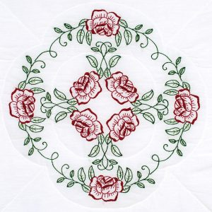 product id 732698 Circle of Roses quilt blocks