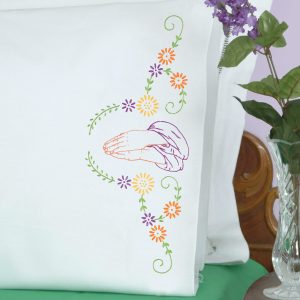 product id 1600250 Praying Hands Perle Edge Pillowcases