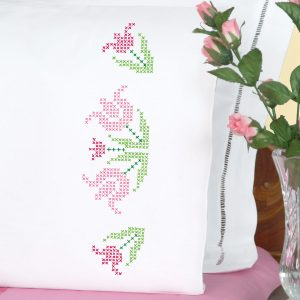 product id 1600296 Lace Tulips Pillowcases