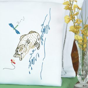 product id 1600498 Fish Perle Edge Pillowcases