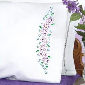 product id 1600694 Lavender Flowers pillowcases