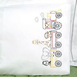 Jungle Train Pillowcase
