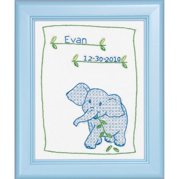 product id 16190 Elephant Sampler blue color