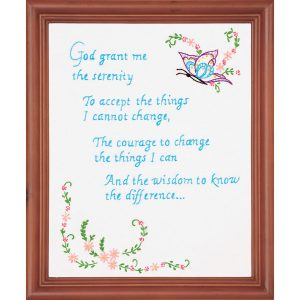 product id 18120 Serenity Prayer Sampler