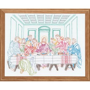 product id 18149 Last Supper White Sampler
