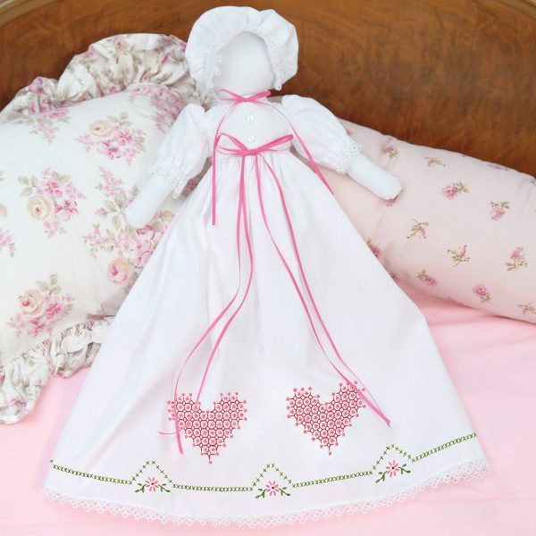 product id 1900514 hearts pillowcase doll