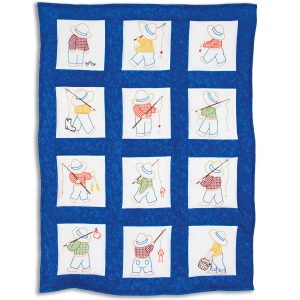 product id 30016 Little Boys Nursery Quilt Blocks