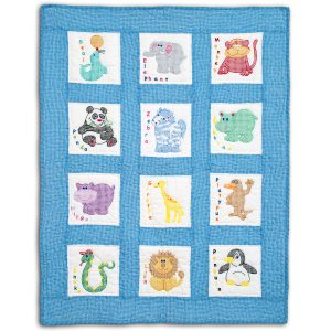 product id 30078 Childrens Zoo Nursery Quilt Blocks