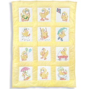 product id 30081 Baby Ducks Nursery Quilt Blocks