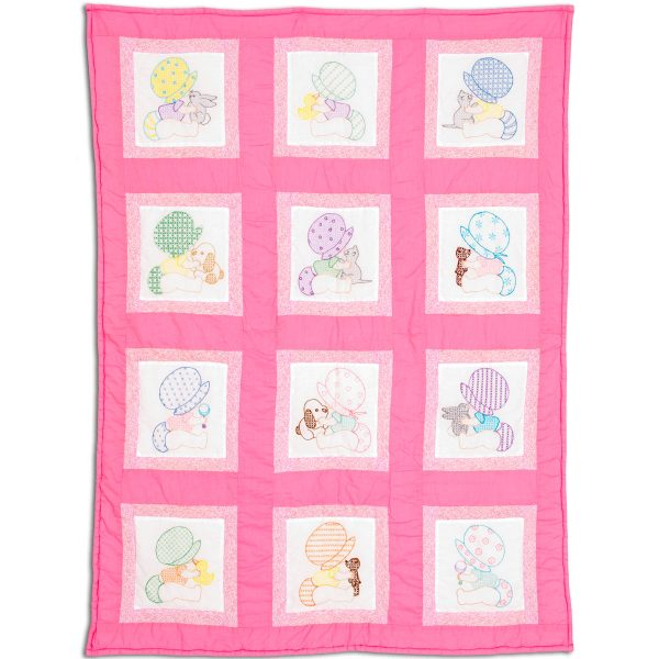 product id 30088 Sunbonnet Babies Nursery Quilt Blocks