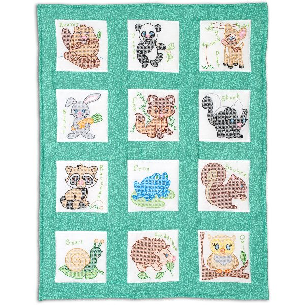 product id 300894 forest friends nursery quilt blocks