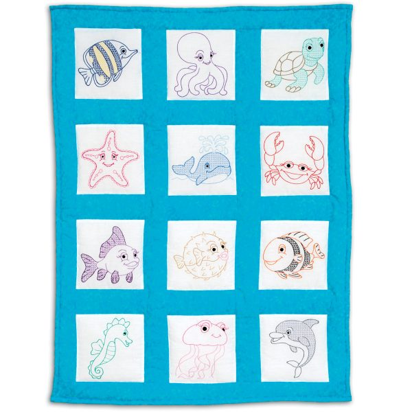 product id 300900 Under the Sea Nursery Quilt Blocks