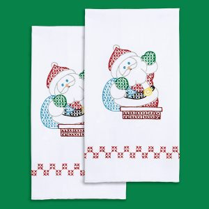 product id 320646 Santa hand towels