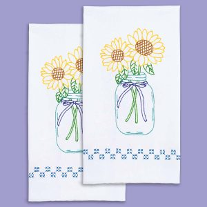 Sunflowers Hand Towels