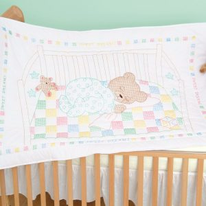 Snuggly Teddy Crib Quilt Top