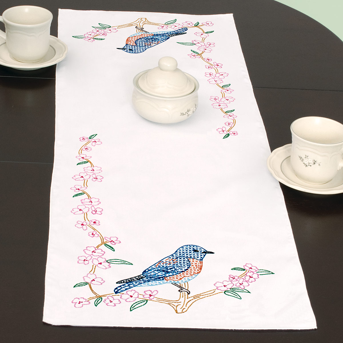 product id 560797 bluebird table runner