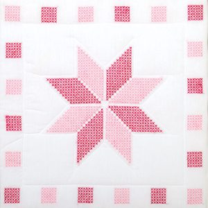 product id 732315 cross stitch star quily block
