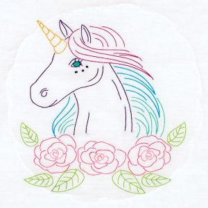 product id 732708 Unicorn Quilt Block