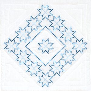 cross stitch Stars Quilt Blocks