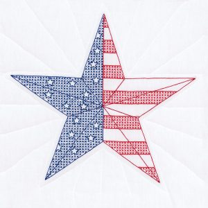 american star quilt blocks