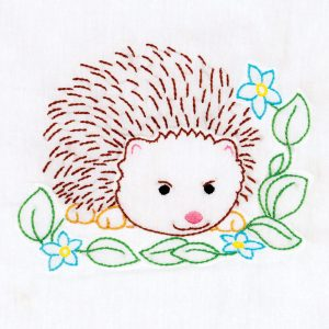 Hedgehog 9 inch quilt blocks