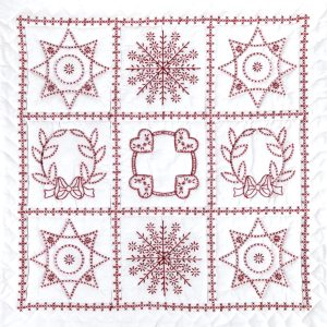 product id 7394 Sampler Wall Quilt