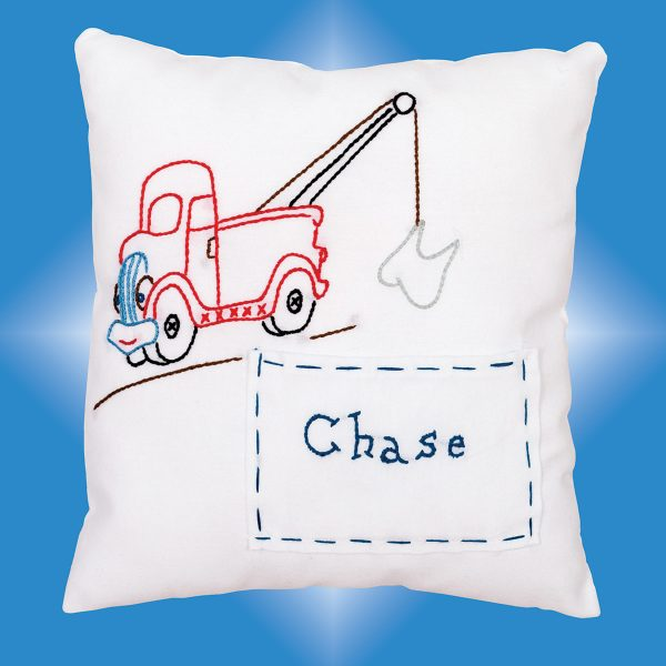 product id 830111 Tow Truck Tooth Fairy Pillow